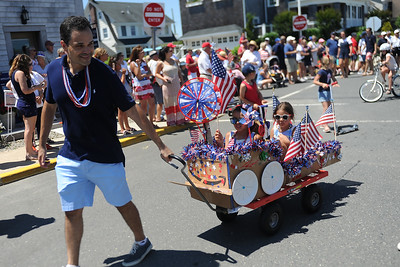 Ther Boro of Mantoloking held a lively Fourth of July Parade with many floats and people of all ages in costume on 07/04/2019. (STEVE WEXLER/THE OCEAN STAR).