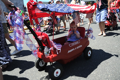 A 4th of July Parade attracted over one hundred participants of all ages in the Boro of Mantoloking, NJ on 07/04/2019. (STEVE WEXLER/THE OCEAN STAR).