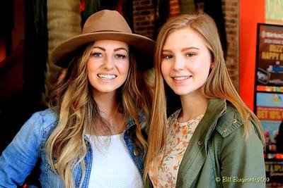 Mandy McMillan & Justine Sletten - Global Nashville 03-19 2630