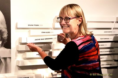Jackie Rae - CCMA plaque - NMC 05-19 166