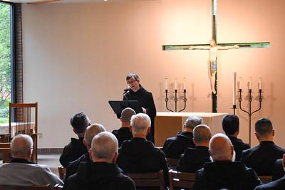 Father Luke Macnamara, O.S.B.  Monk of Glenstal Abbey, Ireland Retreat Master