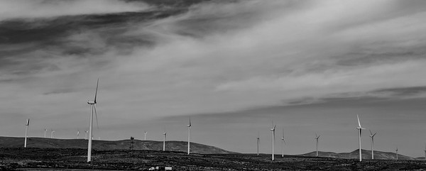 Wind Power near Vantage, Washington
