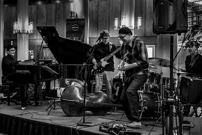 Once the snow cleared it was time to get out for live music at the Portland Jazz Festival.