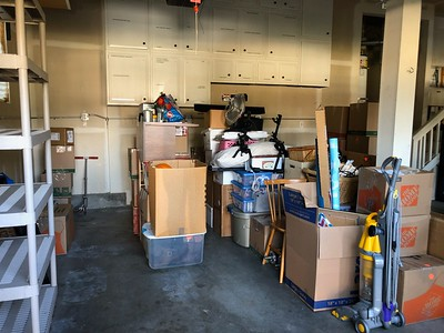 The beginning of the move-in.