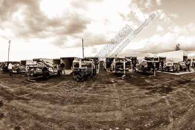 Cars in Pits Sephia May 17