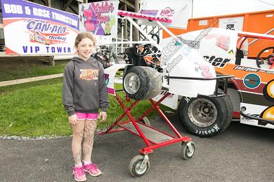 Aubrey Thurston with Kart  May 24