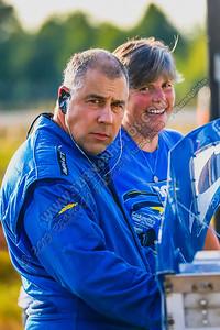 Jeff Stevenson pits  Aug 2