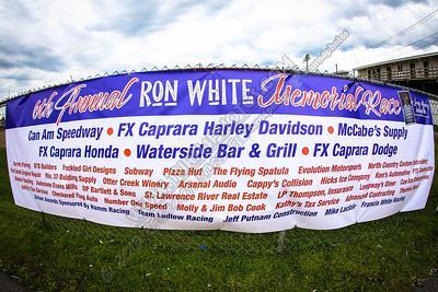 Ron White Memorial banner