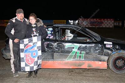 Petrie Zak Thunder stock win April 13- 2