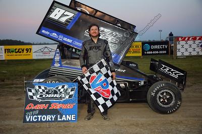 Jason Barney Dash winner July 3-