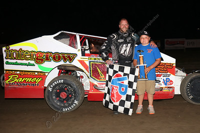 Billy Dunn Modified August 2 win - 2