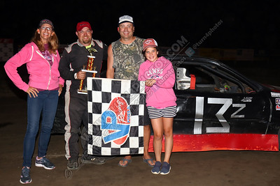 Zak Petrie Thunderstock win  August 2 - 2
