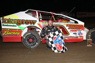 Billy Dunn Modified August 2 win - 1