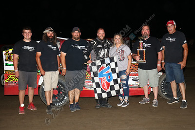 Billy Dunn Modified August 2 win - 3