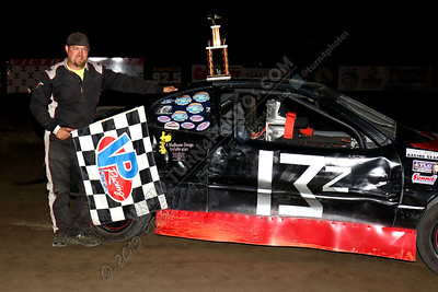 Zak Petrie Thunderstock win  August 2 - 1
