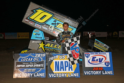 Colagiovanni Sprint win August 9 -