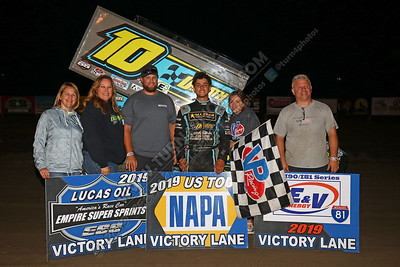 Colagiovanni Sprint win August 9 - 2