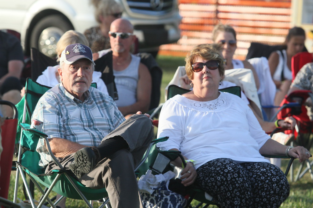 . Music by the Bay brought live entertainment to Walter and Mary Burke Park Aug. 9 and 10. (Photos by Dave Angell)