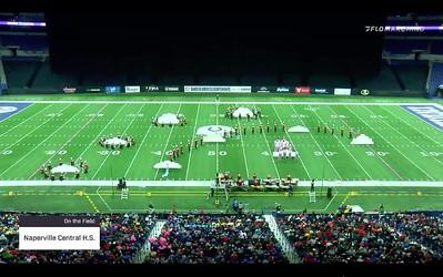 2019 NCHS Marching Redhawks performance BOA Super Regional