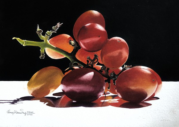 "Simpson, Penny Thomas, NMWS ""A Bunch of Grapes"""