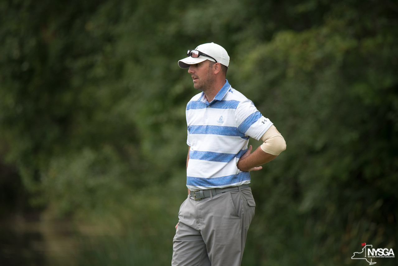 Lange leads by one stroke after NYS Men's Am first round