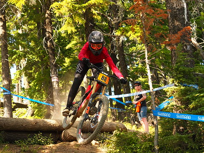 Claire BUCHAR NW Cup # 6 2019 First Place Pro Women silver mountain bike park Kellogg Idaho