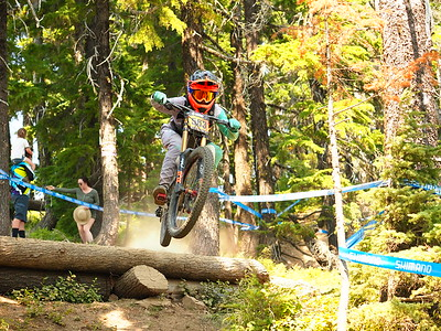 Blake RAUSCH on his race run NW Cup # 6, 2019 Silver Mountain Bike Park Kellogg Idaho