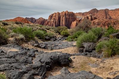 DA054,DT,Lava & Sandstone,Snow Canyon State Park, Utah