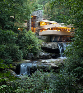DA111,DJ,Fallingwater and  the other 20th Century Architecture of Frank Lloyd Wright are announced as UNESCO World Heritage Sites