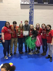 WAHS Took 1st in the Vehicle Problem