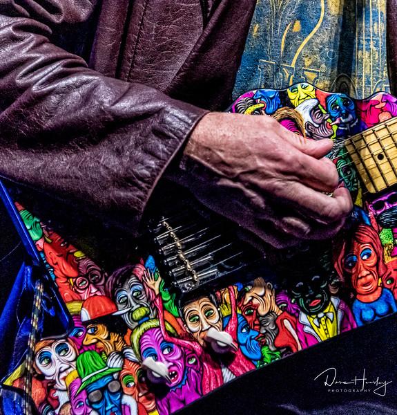 Paul Thorn's guitar