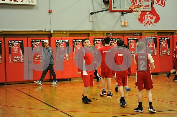 Most Holy Redeemer 8th Gr. Basketball Night 2-11-18