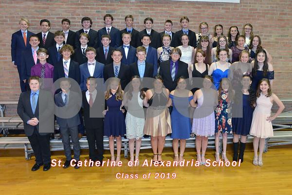 St. Catherine of Alexandria Graduation Banquet