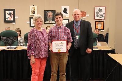 Ben Manetta, eighth grade, WAMS