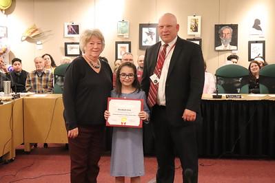 Elizabeth Kirk, third grade, Jackson Primary