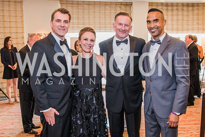 Jeff Mullen, Sage Bolte, Ron Herman, Cedric Brown. Photo by Alfredo Flores. 12th Annual Joan Hisaoka Make A Difference Gala. Mandarin Oriental. Saturday, September 21, 2019.  .dng