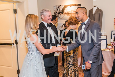 Elizabeth Lowham,  Mark Lowham, Cedric Brown. Photo by Alfredo Flores. 12th Annual Joan Hisaoka Make A Difference Gala. Mandarin Oriental. Saturday, September 21, 2019.