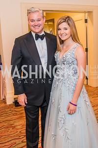 Mark Lowham, Elizabeth Lowham,  Photo by Alfredo Flores. 12th Annual Joan Hisaoka Make A Difference Gala. Mandarin Oriental. Saturday, September 21, 2019.
