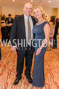 Nancy Seitz, Jeff Seitz. Photo by Alfredo Flores. 12th Annual Joan Hisaoka Make A Difference Gala. Mandarin Oriental. Saturday, September 21, 2019.
