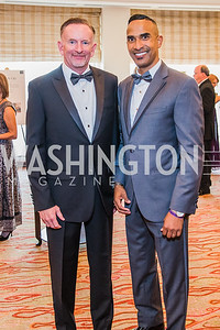 Ron Herman, Cedric Brown. Photo by Alfredo Flores. 12th Annual Joan Hisaoka Make A Difference Gala. Mandarin Oriental. Saturday, September 21, 2019.  .dng