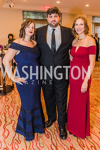Erin Price, Ben Schabert, Jennifer Bires, Photo by Alfredo Flores. 12th Annual Joan Hisaoka Make A Difference Gala. Mandarin Oriental. Saturday, September 21, 2019.