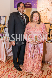 Ray Mahmood, Shaista Mahmood,  Photo by Alfredo Flores. 12th Annual Joan Hisaoka Make A Difference Gala. Mandarin Oriental. Saturday, September 21, 2019.