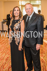 Bonnie Patterson, Dick Patterson, Photo by Alfredo Flores. 12th Annual Joan Hisaoka Make A Difference Gala. Mandarin Oriental. Saturday, September 21, 2019.