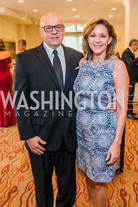 J. Stephen Jones, Kathryn Jones. Photo by Alfredo Flores. 12th Annual Joan Hisaoka Make A Difference Gala. Mandarin Oriental. Saturday, September 21, 2019.