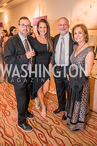 Anthony Lupo, Lauren Lupo, Steve Schram, Marie Schram, Photo by Alfredo Flores. 12th Annual Joan Hisaoka Make A Difference Gala. Mandarin Oriental. Saturday, September 21, 2019.