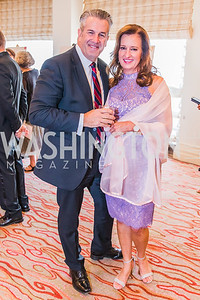 Dave Williams, Jennifer Williams, Photo by Alfredo Flores. 12th Annual Joan Hisaoka Make A Difference Gala. Mandarin Oriental. Saturday, September 21, 2019.