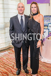 Mark Kimsey, Sarah Kimsey. Photo by Alfredo Flores. 12th Annual Joan Hisaoka Make A Difference Gala. Mandarin Oriental. Saturday, September 21, 2019.  .dng