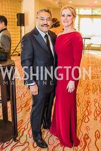 Bob Hisaoka, Dana Hines, Photo by Alfredo Flores. 12th Annual Joan Hisaoka Make A Difference Gala. Mandarin Oriental. Saturday, September 21, 2019.