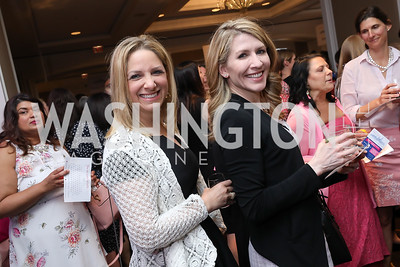 Alicia Margoles, Courtney Davison. Photo by Tony Powell. 14th Annual Women & Wine. Ritz Tysons. April 24, 2019