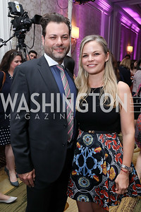 Jason Kampf and Crystal Boyd. Photo by Tony Powell. 14th Annual Women & Wine. Ritz Tysons. April 24, 2019